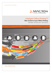 Intelligent Office Printing brochure image